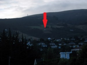 nettes Häuschen in den Bergen