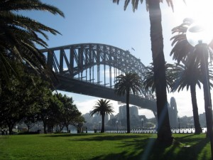 Harbour Bridge mit SONNE